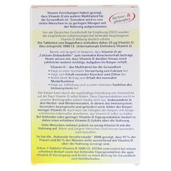DOPPELHERZ Vitamin D 1.000 I.E. EXTRA Tabletten 90 Stück - Rückseite