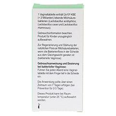 GYNOLACT Vaginaltabletten 8 Stück - Rückseite