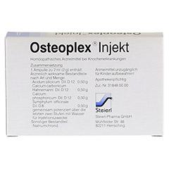 OSTEOPLEX Injekt Ampullen 5 Stück N1 - Rückseite