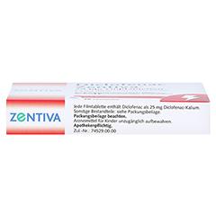 Diclofenac Zentiva 25mg 20 Stück N1 - Oberseite