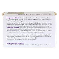 OREGANUM IntMed magensaftresistente Kapseln 60 Stück - Oberseite