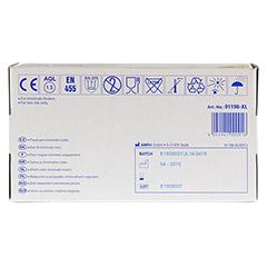 HANDSCHUHE Einmal Nitril XL blau 100 Stück - Oberseite