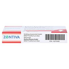 Diclofenac Zentiva 25mg 20 Stück N1 - Unterseite