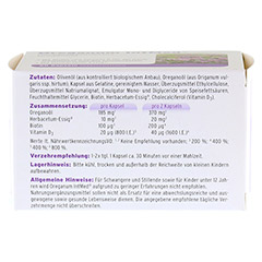 OREGANUM IntMed magensaftresistente Kapseln 60 Stück - Unterseite