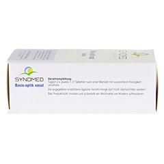 BASIS OPTIK vasal Tabletten 120 Stück - Unterseite