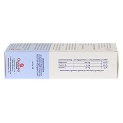 DOPPELHERZ Magnesium 400 Citrat system Brausetabl. 24 Stück - Unterseite