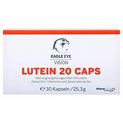 EAGLE EYE Lutein 20 Vision Caps 30 Stück - Vorderseite