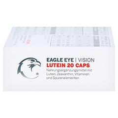 EAGLE EYE Lutein 20 Vision Caps 30 Stück - Linke Seite