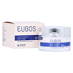 Eubos Hyaluron Repair Filler night Creme 50 Milliliter