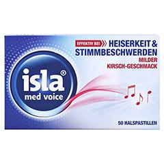 isla med Voice Pastillen 50 Stück - Vorderseite