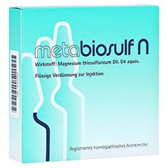 METABIOSULF N Injektionslösung 5x2 Milliliter