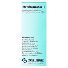METAHEPTACHOL N Mischung 50 Milliliter N1 - Rückseite