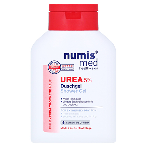 NUMIS med Urea 5% Duschgel 200 Milliliter