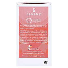 SAMANA PROTECT 9in1 Kapseln mit Bakterienkultur 60 Stück - Linke Seite