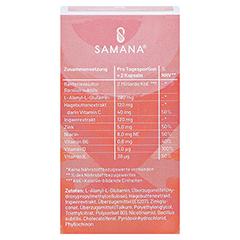 SAMANA PROTECT 9in1 Kapseln mit Bakterienkultur 60 Stück - Rückseite