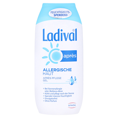 LADIVAL allergische Haut Apres Gel 200 Milliliter