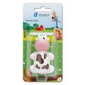 MIRADENT Kinderzahnbürstenhalter Funny Kuh 1 Stück