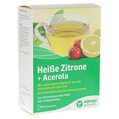ALPHEGA heiße Zitrone+Acerola Pulver 20x5 Gramm
