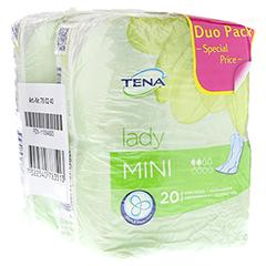 TENA LADY mini Einlagen Duopack 40 Stück