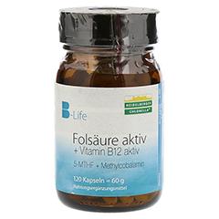 FOLSÄURE AKTIV plus Vitamin B12 aktiv Kapseln 120 Stück
