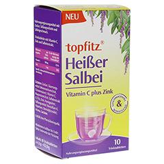 TOPFITZ heißer Salbei Trinktabletten 10 Stück