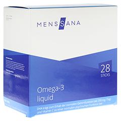 OMEGA 3 liquid MensSana Sticks 28 Stück