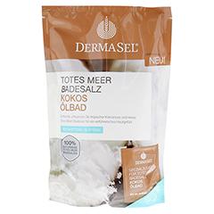 DERMASEL Totes Meer Badesalz+Kokos 1 Packung