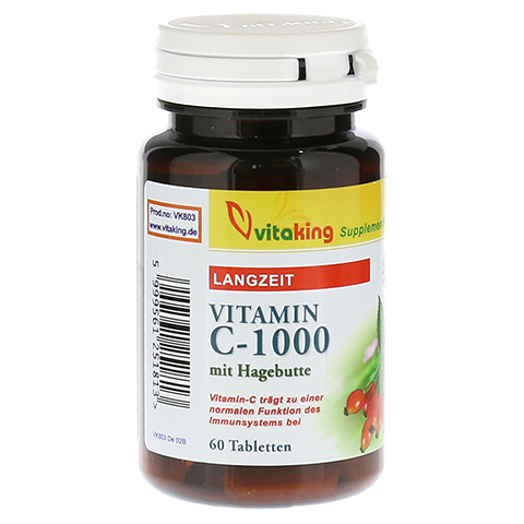 VITAMIN C 1000 Langzeit Tabletten 60 Stück