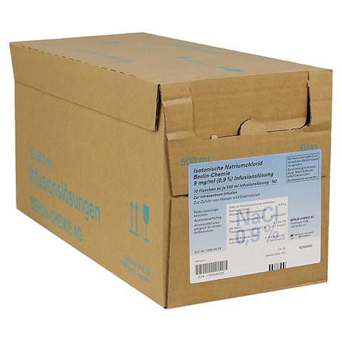 ISOTONISCHE NaCl BC 9 mg/ml 0,9% Inf.-Lsg.Glasfl. 10x500 Milliliter N2