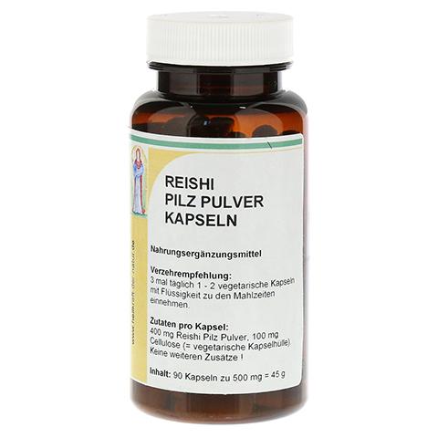 REISHI Pilz Pulver Kapseln 90 Stück