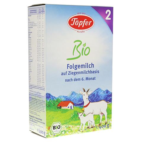 TÖPFER Bio Folgemilch auf Ziegenmilchbasis 2 400 Gramm