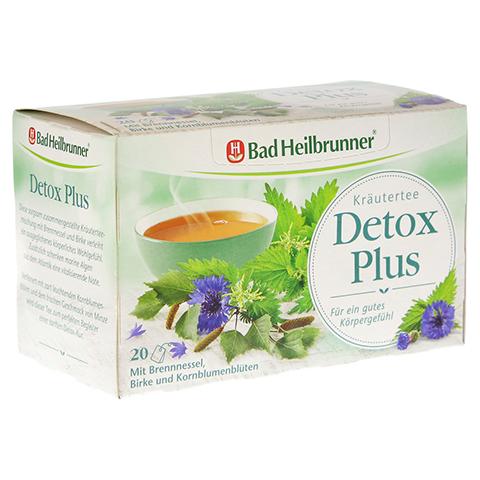BAD HEILBRUNNER Kräutertee Detox Plus Filterbeutel 20 Stück