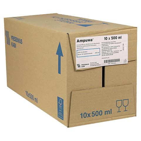 AMPUWA Injektions-/Infusionslösung 10x500 Milliliter N2