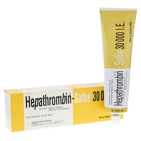 Hepathrombin 30000 150 Gramm N3