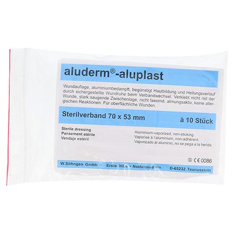 ALUDERM aluplast Sterilverband 53x70 mm 10 Stück