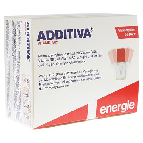 ADDITIVA Vitamin B12 Trinkampullen 30 Stück
