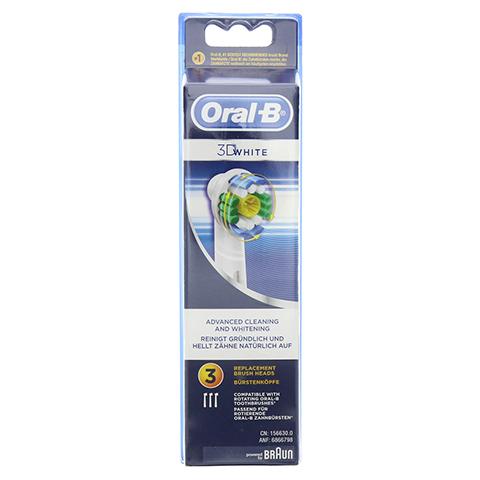 ORAL B Aufsteckbürsten 3D White 3 Stück