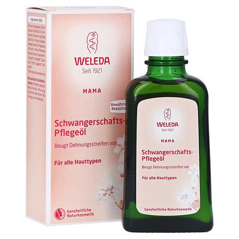 WELEDA Schwangerschaftspflegeöl 100 Milliliter