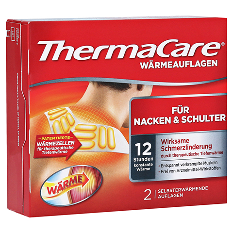 THERMACARE Nacken/Schulter Auflagen z.Schmerzlind. 2 Stück