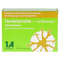 TEUFELSKRALLE 1A Pharma Filmtabletten 50 Stück N2 - Vorderseite