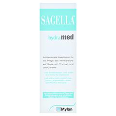 SAGELLA hydramed Intimwaschlotion 250 Milliliter - Vorderseite