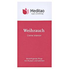 MEDITAO Weihrauchcreme 50 Milliliter - Vorderseite