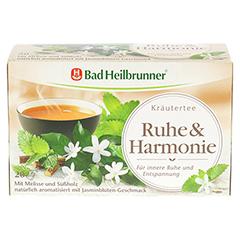 BAD HEILBRUNNER Wohlfühltee Ruhe & Harmonie Fbtl. 20 Stück - Vorderseite