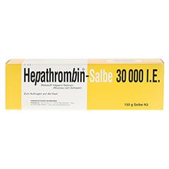 Hepathrombin-Salbe 30000I.E. 150 Gramm N3 - Vorderseite