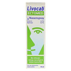 LIVOCAB ECTOMED Nasenspray 10 Milliliter - Vorderseite
