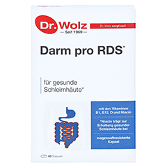 DARM PRO RDS Reizdarm magensaftresistente Kapseln 60 Stück - Vorderseite