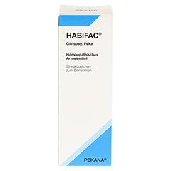 HABIFAC Glo spag.Peka Globuli 10 Gramm N1 - Vorderseite