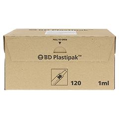 BD PLASTIPAK Tuberkulinspr.1 ml o.Kanüle 120x1 Milliliter - Vorderseite