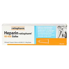 Heparin-ratiopharm 60000 100 Gramm N2 - Vorderseite