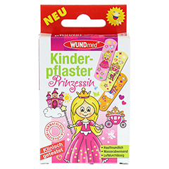 KINDERPFLASTER Prinzessin 10 Stück - Vorderseite